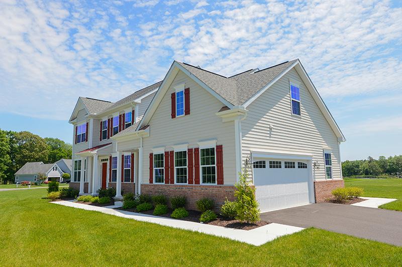 Custom home based on Montego