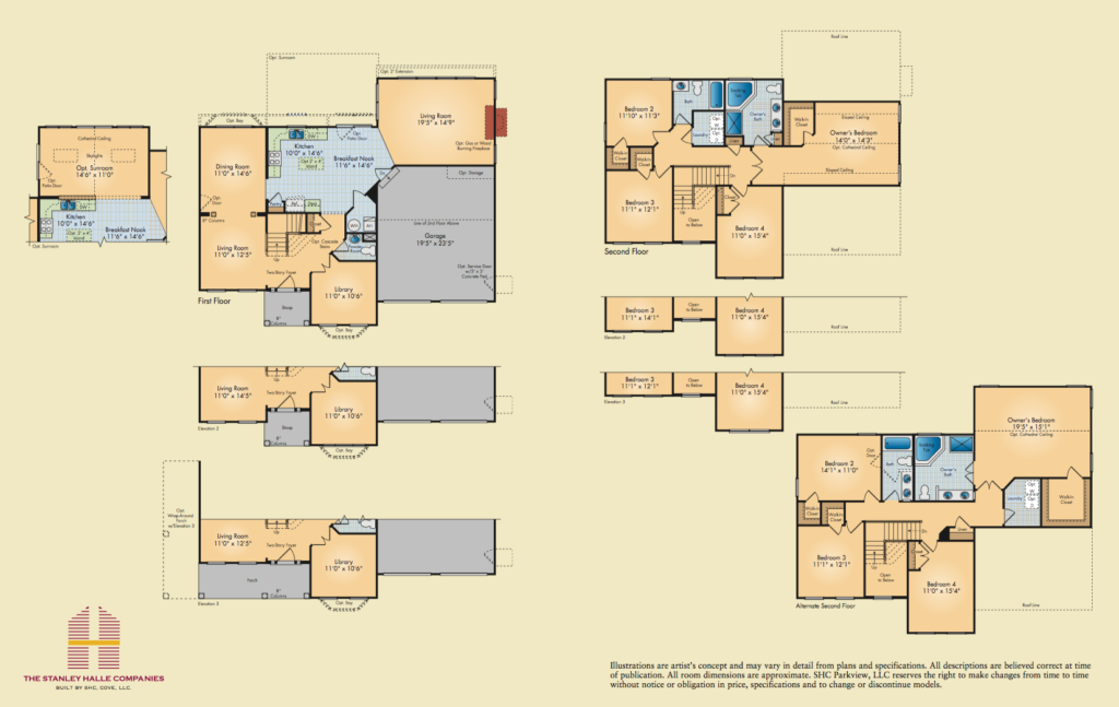 Chesapeake floorplans