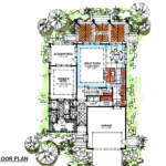 Image of main floor plan